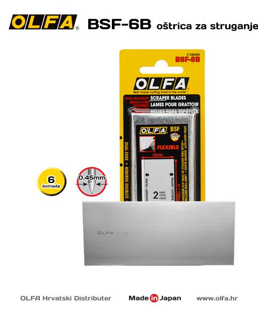 OLFA BSF-6B Fleksibilna oštrica za struganje