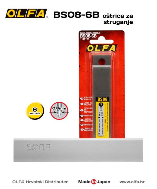 OLFA BS08-6B Oštrica za struganje
