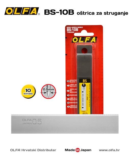 OLFA BS-10B Oštrica za struganje