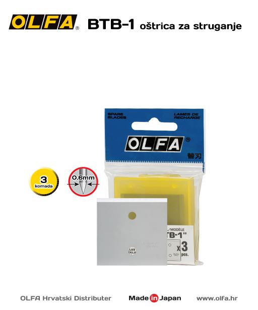 OLFA BTB-1 Oštrica za struganje